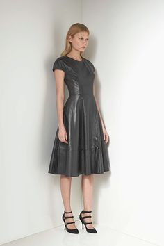 now that's a leather dress. Lover 2013