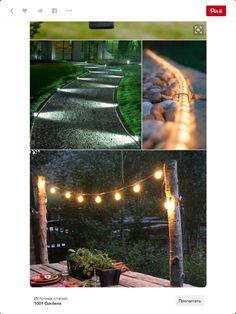 10 Outdoor Lighting Ideas for Your Garden Landscape. Is Really Cute 10 Outdoor Lighting Ideas for Your Garden Landscape. Is Really Cute Outdoor lighting Diy Garden, Dream Garden, Garden Art, Dyi Garden Ideas, Garden Lamps, Garden Edging, Backyard Projects, Outdoor Projects, Garden Projects