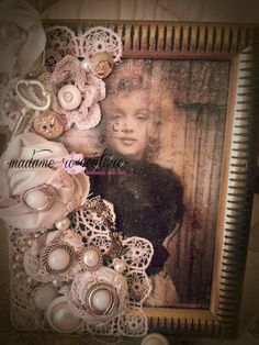 Madame Ro's altered frame..