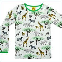 Duns Shirt Savannentiere - Kindermode www.lolakids.de