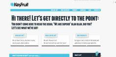 Blue Web Design Example