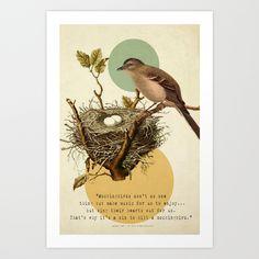 To+Kill+A+Mockingbird+Art+Print+by+Carol+Knudsen+Photographic+Artist+-+$18.00