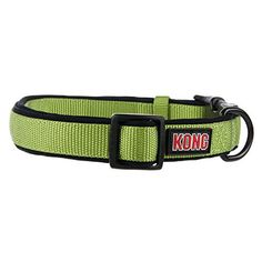 Kong Padded Dog Collar Medium Green KONG https://www.amazon.com/dp/B00BQ2A3GW/ref=cm_sw_r_pi_dp_x_6nGeybTD3FX3Q
