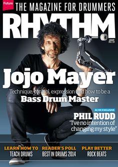 Rhythm Magazine 237. New stuff from Jojo Mayer, Foo Fighters, Mick Fleetwood, Vinnie Colaiuta and more....