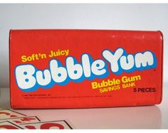 Bubble Yum was the best, softest of the 80's gums.  Hubba Bubba was ok but nothing bet Bubble Yum! .
