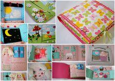Quiet book & hračky