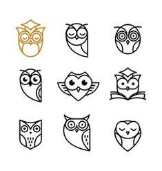 Afbeeldingsresultaat voor simple owl tattoo back Owl Tattoo Back, Simple Owl Tattoo, Simple Owl Drawing, Tiny Owl Tattoo, Arm Tattoo, Owl Vector, Free Vector Art, Owl Tattoo Design, Tattoo Designs
