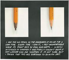 Joh Baldesarri The Pencil Story 1972 to 1973
