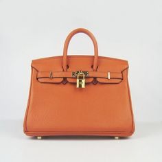 2012 new design Potiron Orange Hermes Birkin 25 with Gold Hardware H11001B available on hermes birkin store .Don't hesitate to contact us if you are interested in any hermes handbags.