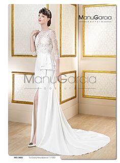 ¡Llega nuestra nueva colección novia! www.manugarciacostura.com