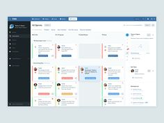 "Jira Revamped – While managing my software development project using Atlassian JIRA, I felt the need to revamp its ""Active Sprints"" screen's design a bit. I attempted to spruce it up by introducing..."