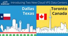 Announcing New Data Centers in Dallas, Texas and Toronto, Canada!