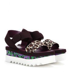 Stella Mccartney Platform Sandals in Black