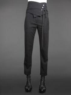 asymetric black trousers - Google Search