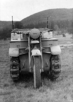 NSU Sdkfz2 SonderKraftFahrZeug Kettenkrad