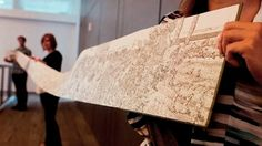 Joe Sacco's new book, The Great War, unfolds into a 24-foot-long panorama.