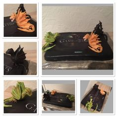 Fondant Torte Games of Thrones  Drachen ..Dragon