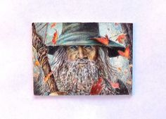 Lord of the Rings, Aceo Gandalf the Grey Art by H.Windmiller