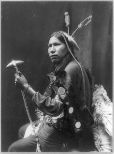 This 1899 Portrait By George Heyn, Provided By The Library Of Congress, Shows Albert Afraid Of Hawk Holding A Tomahawk. Buffalo Bill's Native American Sidekick To Be Reburied Alongside Tribe As Unmarked Grave Is Discovered 112 Years After His Death. He Began Traveling With Buffalo Bill's World-Famous Troupe Two Years Before He Died At Age 20.