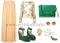 A Touch Of Green – Outfit Combination Idea