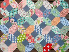 loving all the old fashioned blocks I've seen from modern quilters lately!!!