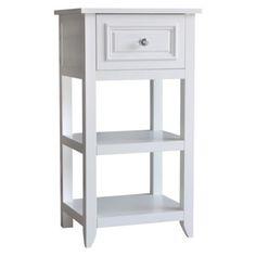 Elegant Home Fashions Dawson Floor Cabinet - White
