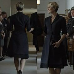 Claire is a fan of the coat dress, ...