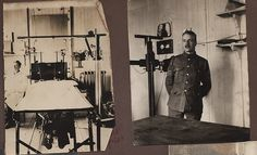 X-ray department 20th general hospital WWI France.