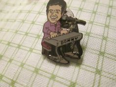 Official Jimmy Osmond Pin Traders brother Donny at his keyboard. Keyboard, Brother, Ebay