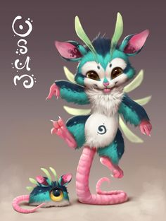 I don't enjoy opossums, but this one is very cute. » Osum the opossum by Silverfox5213.deviantart.com on @DeviantArt «