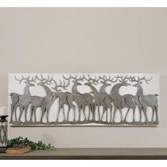 Have to have it. Uttermost Herd Of Deer Wall Art - $323.4 @hayneedle