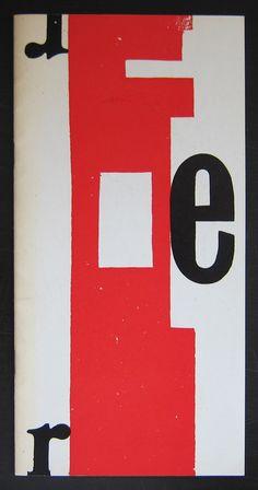 Artist/ Author: H.N. Werkman Title : HN Werkman Publisher: Groninger Museum voor stad en lande, 1964 Text / Language: dutch Measurements: 10.3 x 5,2 inches. Condition: NM+ extra information on this it