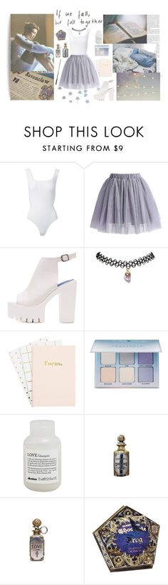 """""""*** Ravenclaw - Rapmon ***"""" by milda-mint ❤ liked on Polyvore featuring Alaïa, Chicwish, Wet Seal, Anastasia Beverly Hills and Davines"""