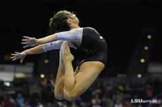 LSU's Rheagan Courville's Sheep Jump on beam Women's Gymnastics, Female Gymnast, Gym Style, Sports Women, Leotards, Sheep, Sporty, Concert, Inspiration