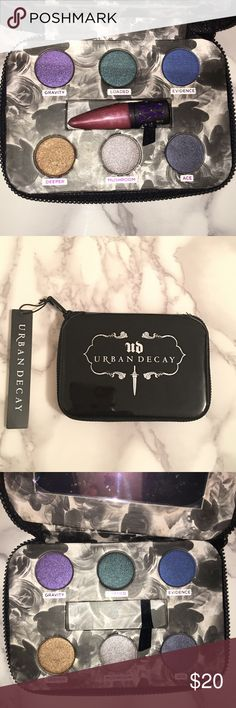 Urban Decay The Dangerous Palette BRAND NEW The Dangerous Palette by Urban Decay.  Deep jewel tones and edgy neutrals. You can try dark daytime looks or dark nighttime looks!!! Perfect for the holidays. Urban Decay Makeup Eyeshadow
