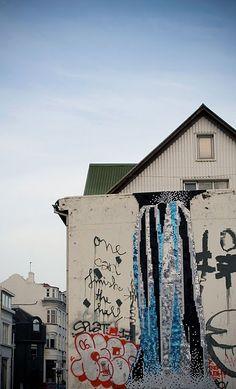 sequin installations by Danish/Czech artist Theresa Himmer