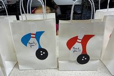 Okay so I was so sure I posted the favors and cake from the bowling party.but I guess I did not so I so need to do that! We had my dau. 10th Birthday Parties, Diy Birthday, Bowling Party Favors, Gift Bags, Paper Shopping Bag, Fundraising, Party Time, Cool Stuff, Projects