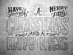 Christmas Cards 2012 by Joel Felix, via Behance