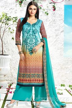 http://www.mangaldeep.co.in/salwar-kameez/peacock-green-chiffon-cotton-satin-semi-stiched-designer-salwar-suit-7733 For more details contact us : +919377222211 (whatsapp available)