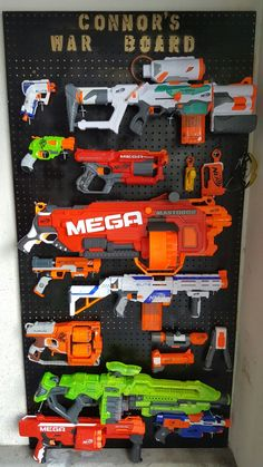 Exceptional cool boys bedroom - read up on our short article for a whole lot more concepts! Preteen Boys Room, Nerf Gun Storage, Nerf Party, Kids Bedroom, Bedroom Ideas, Teen Room Decor, Baby Boy Rooms, Kid Beds, Playroom