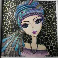 Mujeres del Mundo. #rominalerda #rominalerdart #romilerda #romilerdart @romi_lerda_art Doodle Art Drawing, Zentangle Drawings, Art Drawings, Painting & Drawing, Colour Drawing, Drawing Faces, Art Pop, Cute Canvas Paintings, Canvas Art