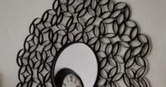 How To Make Roll Round Mirror Frame from Paper That mirror frame looks really beautiful but it is only made from paper. So you can m...