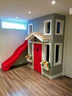 Cute Basement Playroom Decorating Ideas (51)