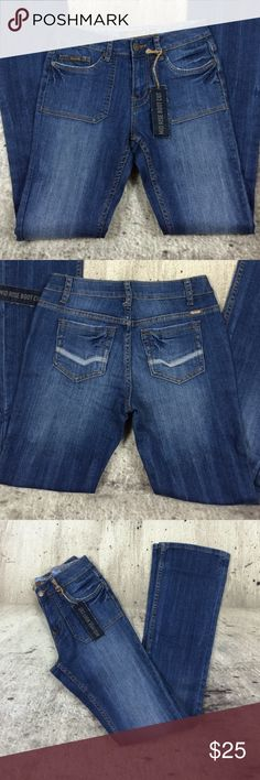 """Reuse Mid Rise boot cut jeans Reuse Mid Rise boot cut jeans cotton and spandex blend inseam 34"""" rise 9"""" Reuse Jeans Boot Cut"""
