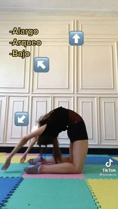 Full Body Gym Workout, Slim Waist Workout, Gym Workout Tips, Fitness Workout For Women, Dancer Workout, Dance Workout Videos, Gymnastics Workout, Gymnastics Tricks, Gym Workout For Beginners