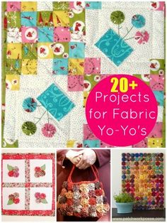20  Fabric YoYo Projects