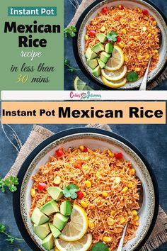 Seasoned Rice Recipes, Mexican Rice Recipes, Corn Recipes, Mexican Food Recipes, Kitchen Recipes, Cooking Recipes, Cooking Tips, One Pot Rice Meals