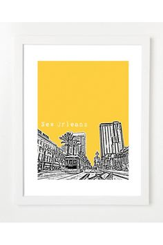 $20 New Orleans Poster by Birdave 2 for 30 on Jack Threads - Join Today: http://www.jackthreads.com/invite/tobytoby7