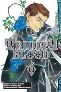 http://www.adlibris.com/bonnierbooksfinland/product.aspx?isbn=9521616164 | Nimeke: Trinity Blood 14 - Tekijä: Sunao Yoshida - ISBN: 9521616164 - Hinta: 5,60 €