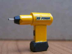 Dollhouse NonWorking Electric Sanding and Drilling  Tool Doll House Miniatures